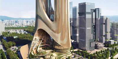 Shenzhen Bay Super Headquarters Base by Zaha Hadid Architects