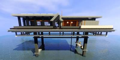 ארכיטקטורה מעוררת השראה במשחק מיינקראפט | השראה יומית