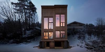 בית משפחה אקולוגי בנורווגיה | פרוייקט חול