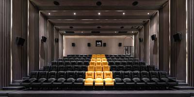 innovational cinema experience designed by X+Living
