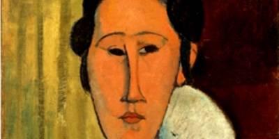מודיליאני, בין חברים במוזיאון תל אביב לאמנות