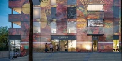 עיצוב חזית מגדל פלורס בהולנד I פרוייקט חול