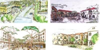 תערוכה פיתוח המרחב העירוני במוזיאון מוניו גיתאי-חיפה