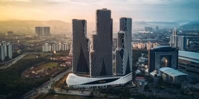מתחם מגדלים מעוצב במלזיה