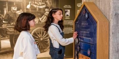 כל המשפחה אושפיזין במוזיאון אנו