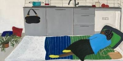 בין פנים לחוץ- תערוכת ציורים בגלריה זימאק