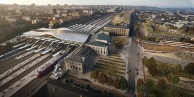 זאהה חדיד אדריכלים נבחרו לתכנן את תחנת הרכבת בוילנה
