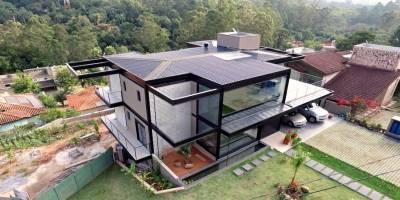 פרוייקט מגורים בסגנון מתועש בברזיל